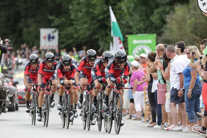 ツール・ド・フランス2015で3勝を挙げたBMCレーシング