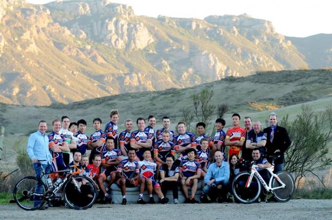 多くのアジア人ライダーを迎え、国際色豊かなチャンピオンシステム・プロサイクリングチーム