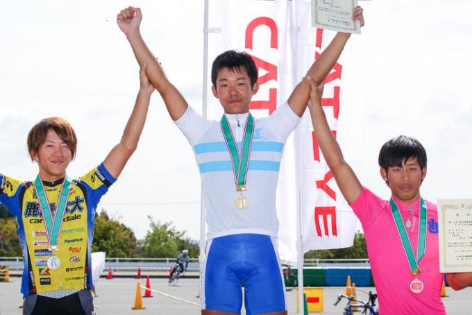 全日本学生選手権クリテリウム2012王者の吉岡直哉(日本、京都産業大)