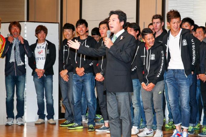 佐藤栄一宇都宮市長「ジャパンカップをワールドツアーに」