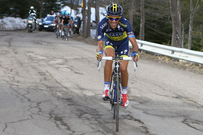 全グランツール制覇を達成しているアルベルト・コンタドール(スペイン)