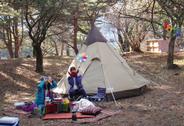 キャンプの楽しみも味わえます!