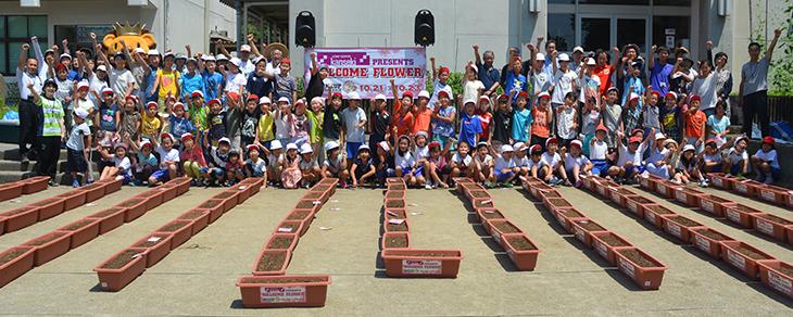 宇都宮市立城山西小学校(2016年7月11日)