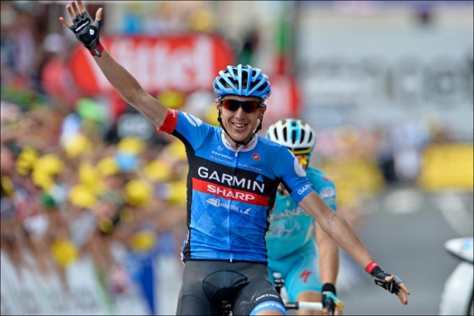 ツール・ド・フランス2013第9ステージを制したダニエル・マーティン(アイルランド、ガーミン・シャープ)