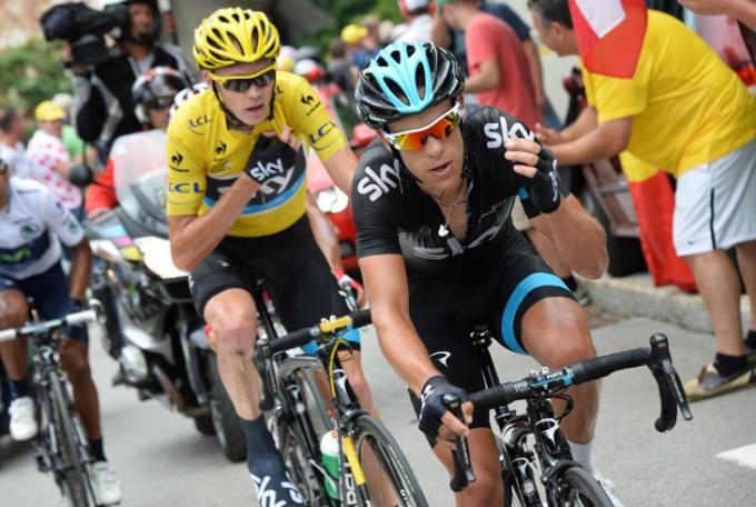 ツール・ド・フランスの山岳を席巻したクリス・フルームとリッチー・ポルト